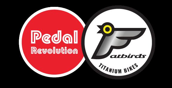 Pedal Revolution & Fatbirds Titanium Bikes