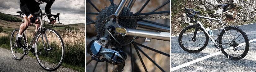 Titanium bikes, J Guillem, Van Nicholas