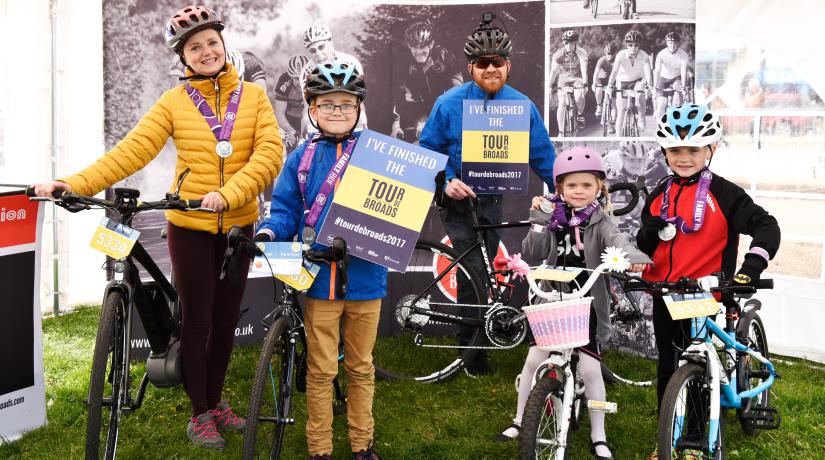 Tour de Broads Spring Family Ride