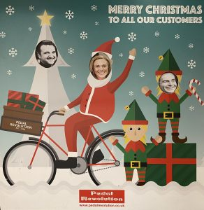 Happy Christmas from the Pedal Revolution Team!