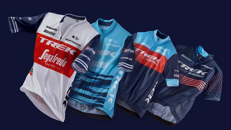 Trek team clothing